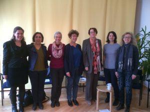 Gruppenbild Stadträtinnen und Frauennetz Sprecherin Waltraud Dürmeier